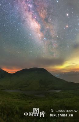 大嵛山岛 冬季 夏季 星空