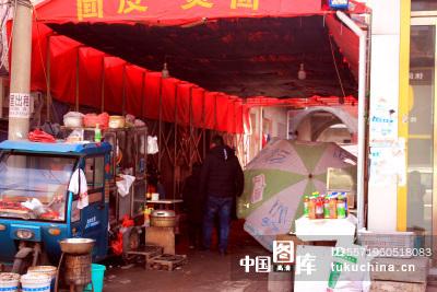 中国千年古镇临涣扫街