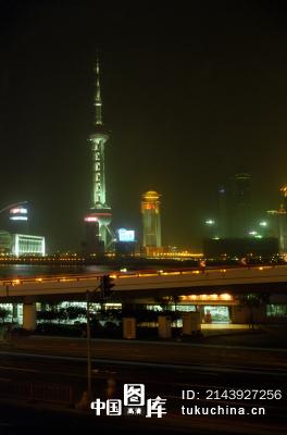 上海城市夜景 图片