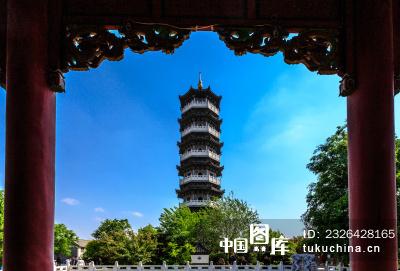 昌邑博物馆古塔风景