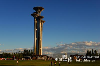 风光类:北京奥体公园瞭望塔 图片