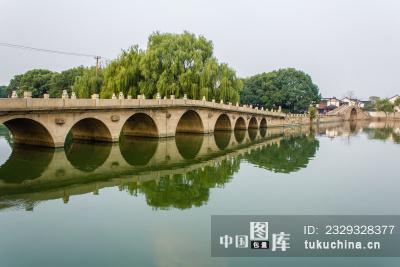 苏州石湖风景区行春桥